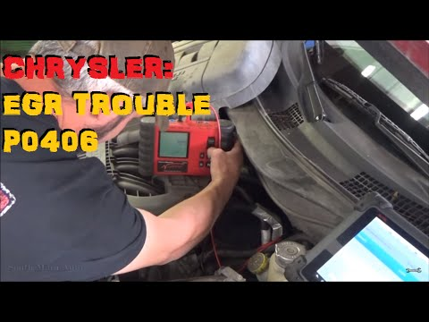 Chrysler EGR Diagnosis P0406