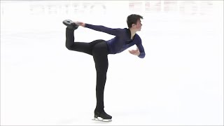Макар Игнатов. Короткая программа. Мужчины. NHK Trophy. Гран-при по фигурному катанию 2019/20