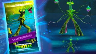 Teenage Mutant Ninja Turtles: Legends - Platinum Snakeweed VS SNAKEWEED BOSS #TMNT 2012