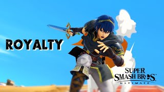 "SSBU -  ""ROYALTY"" / /  A Smash Ultimate Marth Montage"