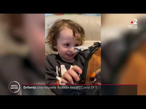 Maladie des enfants: y-a-t'il un lien avec le Covid 19