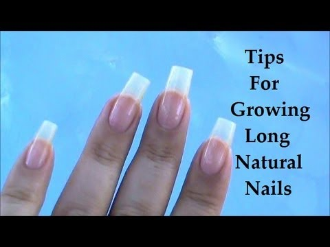 Tips For Growing Long Natural Nails X Bloopers