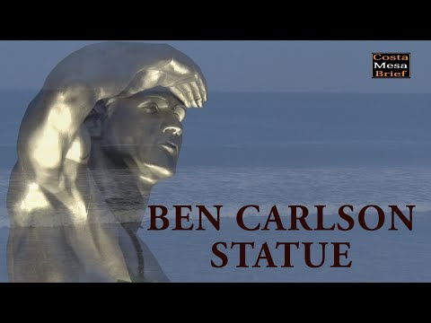 Ben Carlson Statue Unveiling
