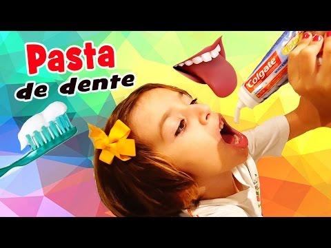 Pasta de Dente/Creme Dental Comestível ♥ IGUALZINHO! (DIY, Como Fazer, Trollagem) com Sarinha