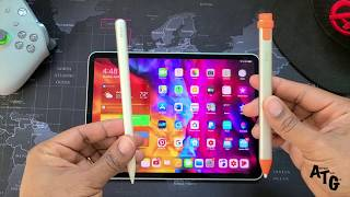 Apple pencil gen 2 or logitech crayon??? which is best for you in 2020 your ipad pro???get yours here:logitech crayon digital pro 11 htt...