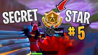 Fortnite SECRET BATTLE STAR WEEK 5 SEASON 8 LOCATION! (Discovery Challenges)
