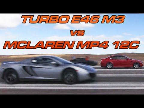 McLaren MP4 12C Vs Turbo E46 M3