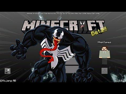 Minecraft PE : ADDON VENOM ! (Minecraft Pocket Edition)