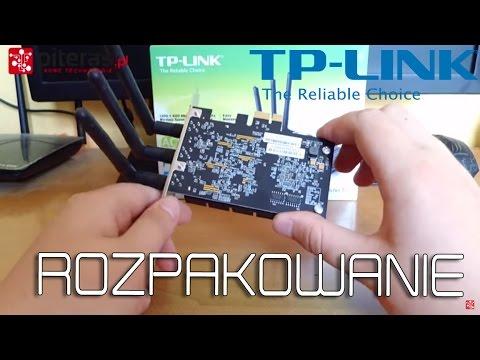 TP-LINK Archer T9E - Karta Wi-Fi pod PCI-E | 2.4GHz & 5GHz - ROZPAKOWANIE