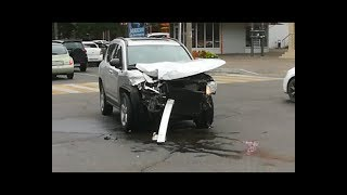 Несколько серьезных ДТП произошло утром 4 октября на улицах Анапы