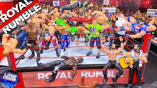 WWE ROYAL RUMBLE ACTION FIGURE MATCH! 2019 Prediction!