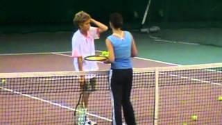 Анжелика Балюк - проведение тренировки (часть1)