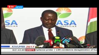 Raila Odinga gives details on why NASA decided to go to court