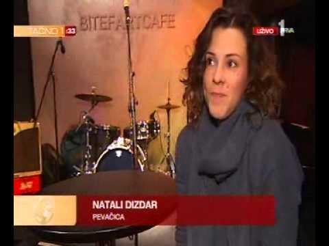 BitefArtCafe Natali Dizdar intervju za Prva Srpska TV