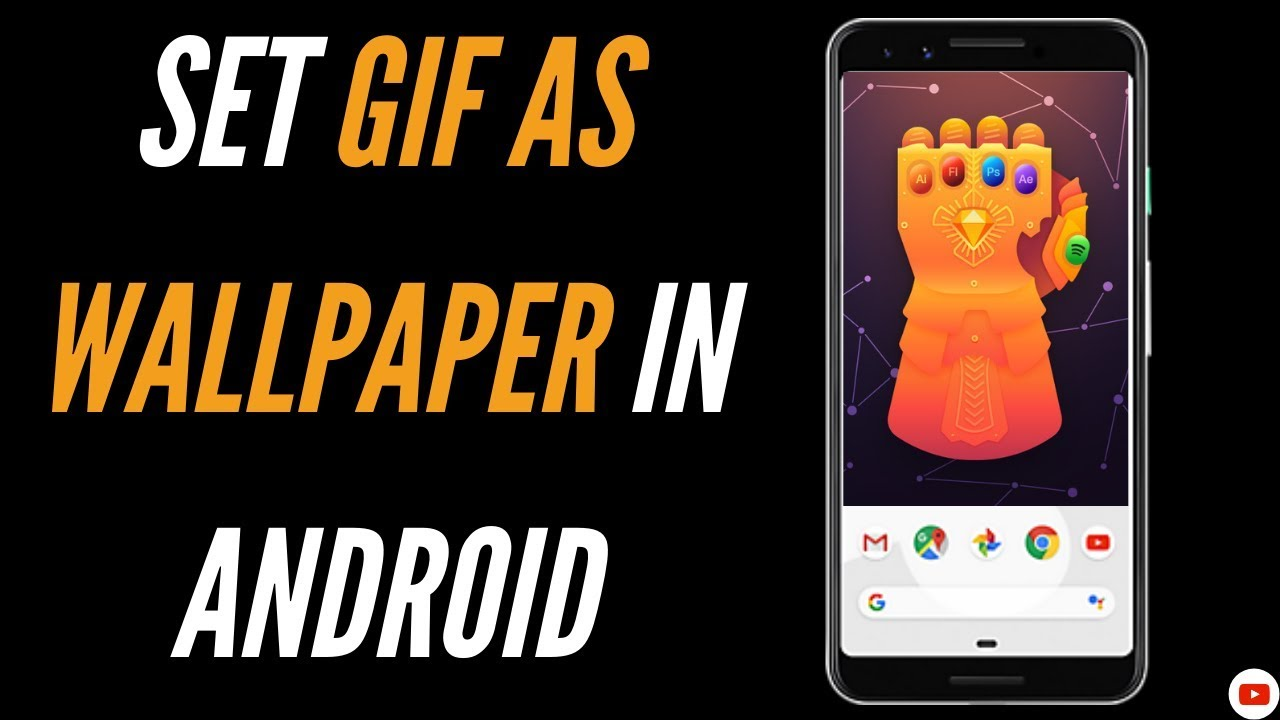 How To Set Gif As Wallpaper Android Youtube