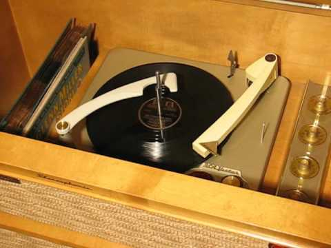RCA New Orthophonic Record Player - Model SHP-8 1958