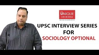 UPSC Civil Service Examination | Sociology Optional | Sociology Scope | By Unique Shiksha