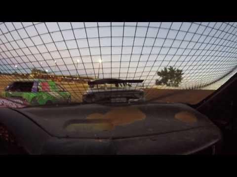 Sean Boyce in car Charleston Speedway 7/8/17