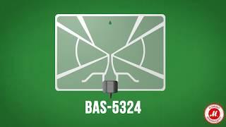 Видеопрезентация комнатной ТВ-антенны «Рэмо BAS-5324-USB»