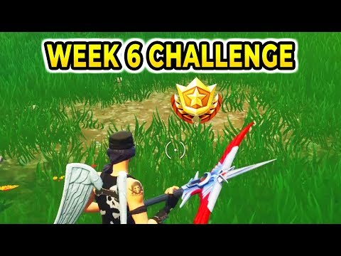 """""""Search between a Playground, Campsite and Footprint'' Location Fortnite Week 6 Challenges"""