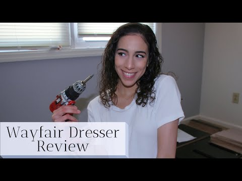Wayfair Dresser Building and Review