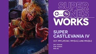 Super Castlevania IV retrospective: Simon's big adventure | Super NES Works #026