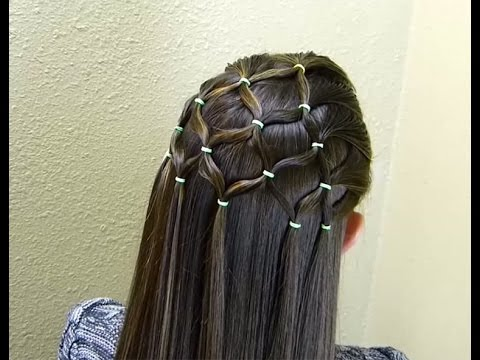 Party Wear Hairstyle Youtube