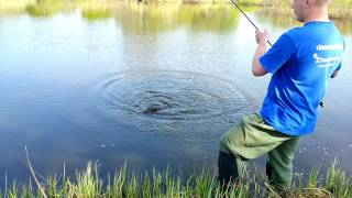 видео ловля щуки на припяти