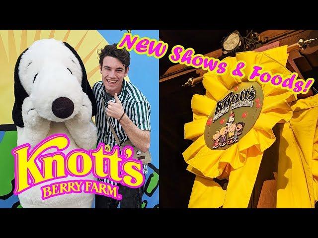 The Peanuts Celebration 2020 at Knott's Berry Farm - NEW Shows / Food / Merch