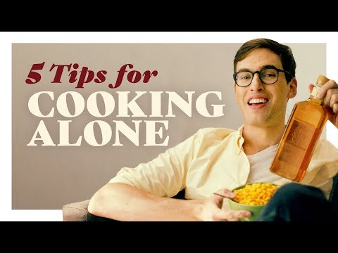Cooking Alone - 5 Best Tips