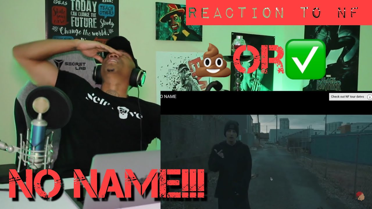 Download TRASH or PASS! NF (No Name) [REACTION]