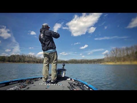 Girl Scouts, Shot Guns, and Bass - FLW Tour Practice - Lake Cumberland
