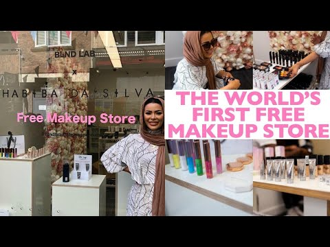 I Opened The World's First FREE MakeUp Store thumbnail