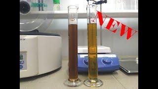 Used hydraulic oil regeneration