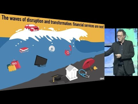 Futurist Speaker Gerd Leonhard: digital transformation of society, business, DST Advance '17 edited