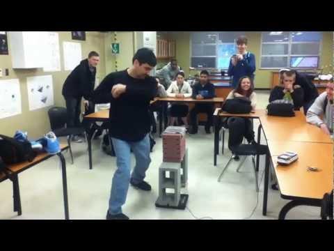 Badass physics teacher!