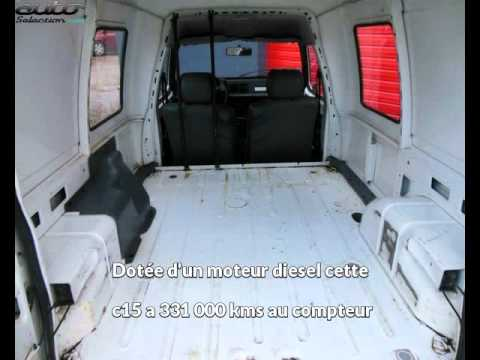 citroen c15 occasion visible beaupuy pr sent e par aa automobiles youtube. Black Bedroom Furniture Sets. Home Design Ideas