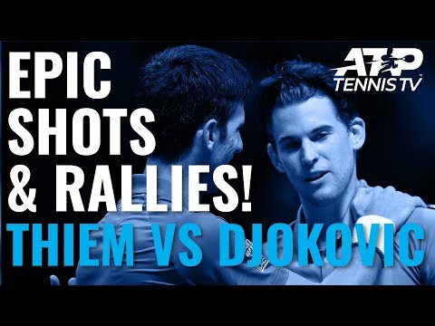 Epic Rallies from Unbelievable Thiem v Djokovic Match! | Nitto ATP Finals 2019