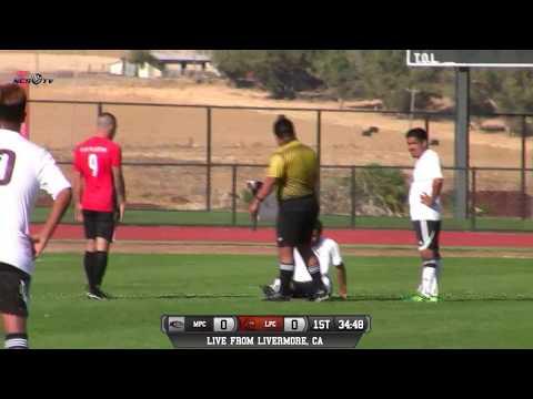 Monterey Peninsula vs Las Positas College Men's Soccer LIVE 9/29/17