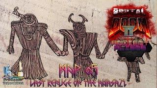 Brutal Doom 3.0:  Ancient Aliens: Прохождение (Walkthrough) #MAP05 Last Refuge of the Anasazi