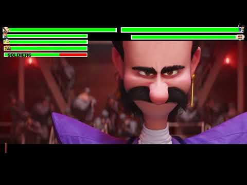 Despicable Me 3 - Bratt Steals the Diamond Scene with health