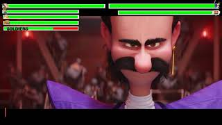 Despicable Me 3 - Bratt Steals the Diamond Scene with healthbars