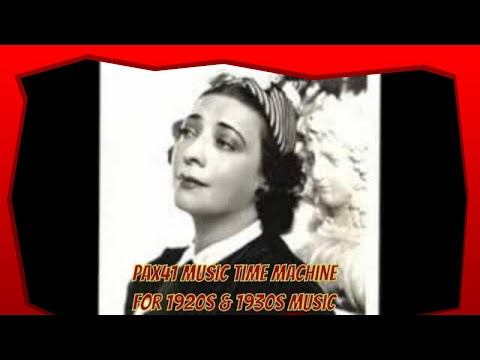 1920's Music Sensation  - Belle Baker - -Hard- Hearted- Hannah- @Pax41
