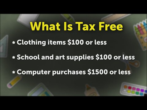 Tax free weekend this weekend in Tennessee
