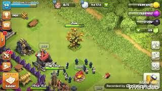 Clash of clans güncelleme ile gelen altın dolu ağacı kaldırdım