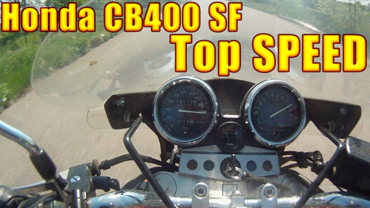 Honda CB400 SF Top Speed