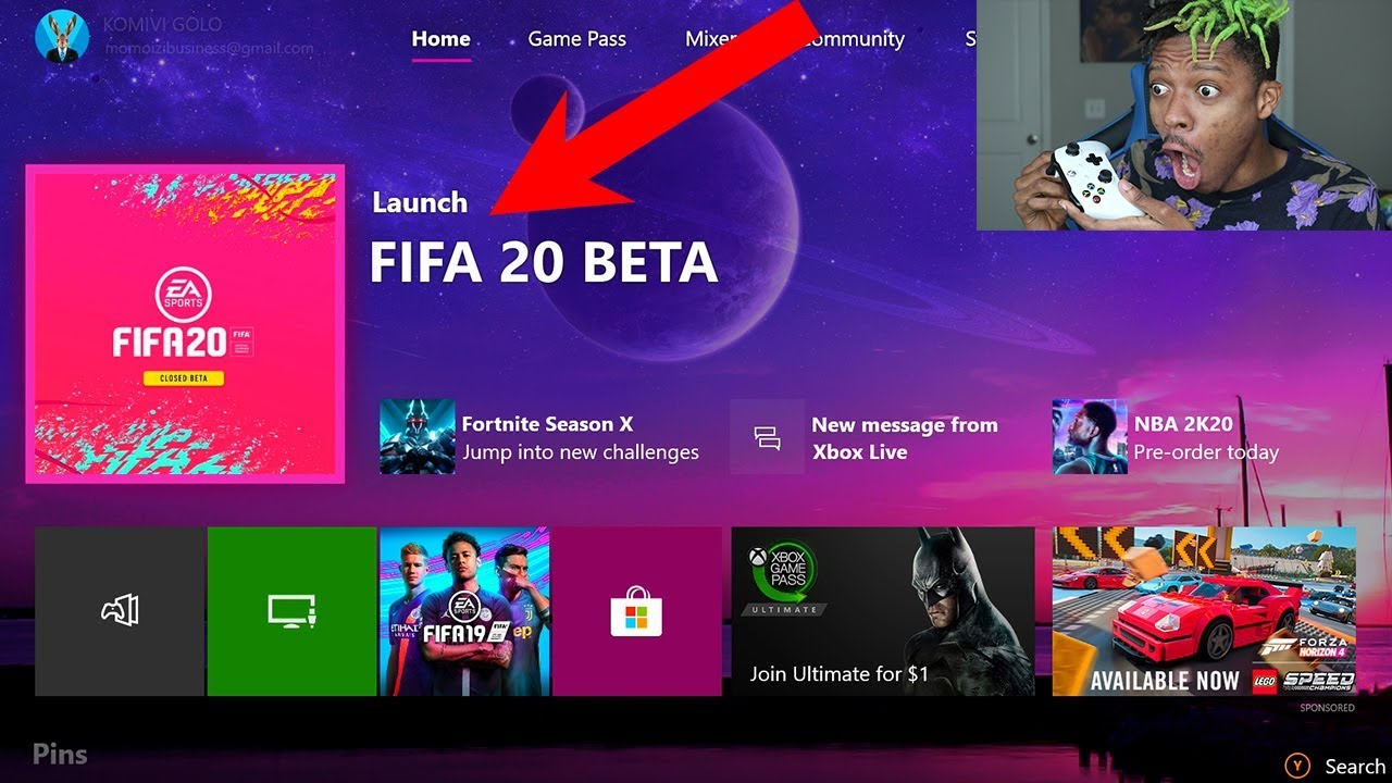 HOW TO GET THE FIFA 20 CLOSED BETA (with PROOF) - YouTube