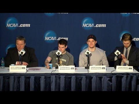 Minnesota Duluth Postgame Press Conference - 2016 NCAA Men