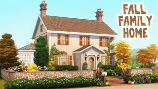Fall Family Home 🍂 || The Sims 4: Speed Build