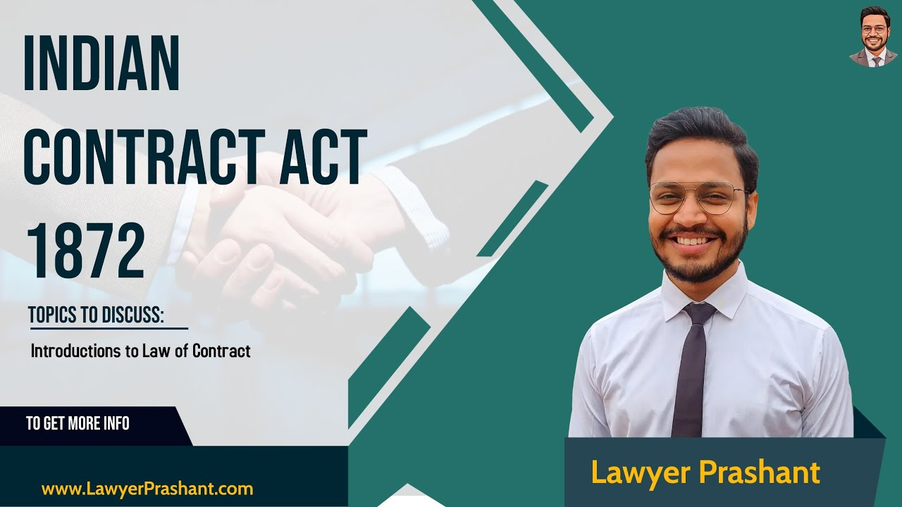 Indian Contract Act 1872 | Introduction to Law of Contract | Nature of Applicability |LL.B | CA | CS